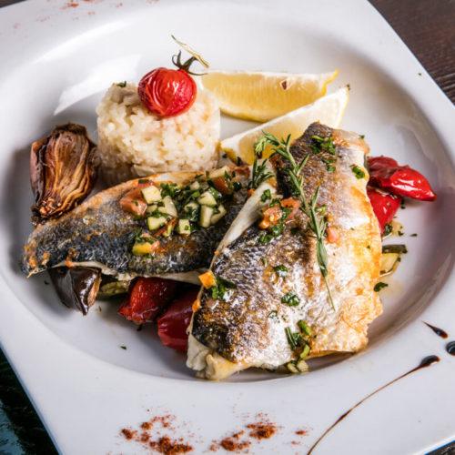 Plats du jour viande ou poisson - Restaurant l'Opus - Pays d'Aix