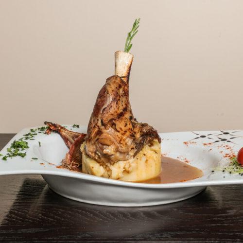 Spécialités - Souris d'agneau - Restaurant l'Opus à Venelles